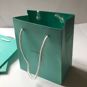 Tiffany & Co. Blue Small Gift Shopping Paper Bags